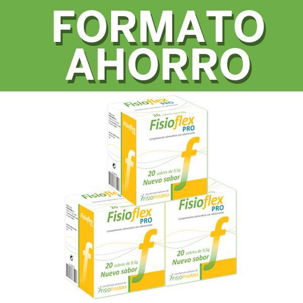 Fisioflex PRO Pack Ahorro x3 Proveedor Salud N1 DreamFarma.com