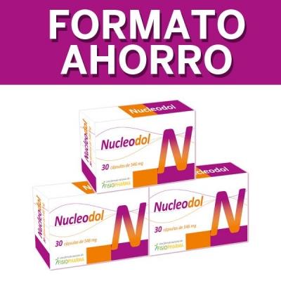 Nucleodol Pack Ahorro x3 Proveedor Salud N1 DreamFarma.com