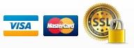 Formas de Pago Visa y MasterCard y pagos seguros mediante SSL