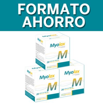 Myolax Pack Ahorro Proveedor Salud N1 DreamFarma.com